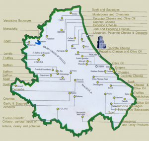 Abruzzo Food Map