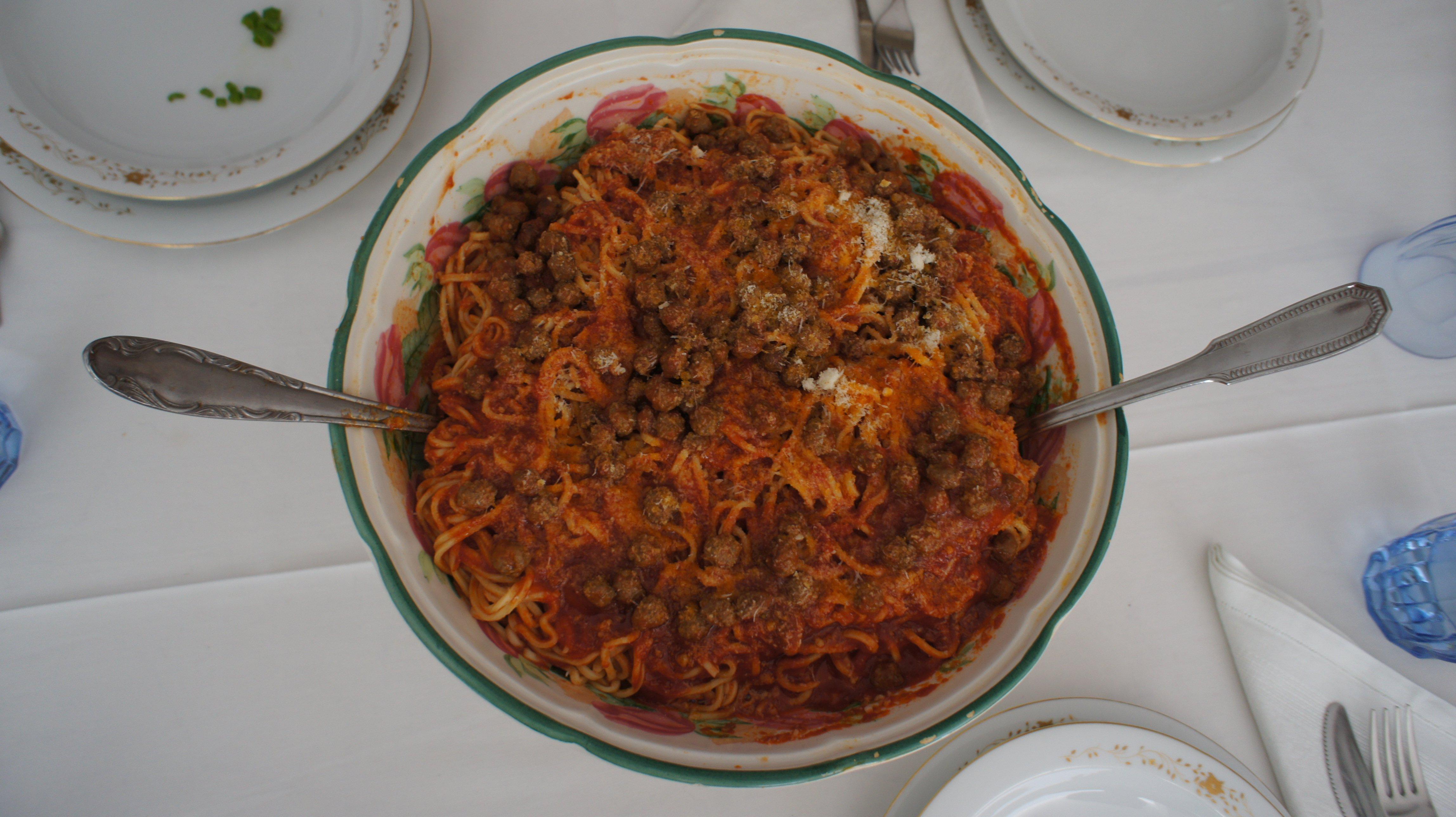 Abruzzo Food – Macheroni Alla Chitarra