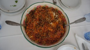Abruzzo Food - Macheroni Alla Chitarra