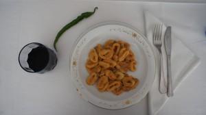 Abruzzo Food - Pasta Alla Pecorara