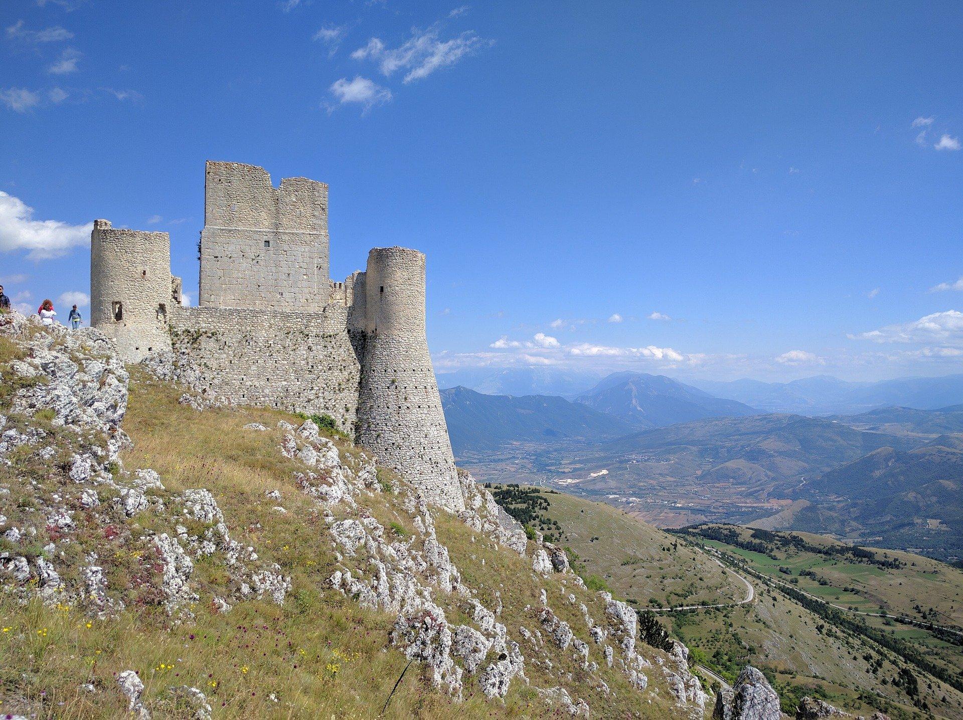 Rocca Calascio | Gran Sasso e Monti della Laga National Park | of Campo Imperatore.