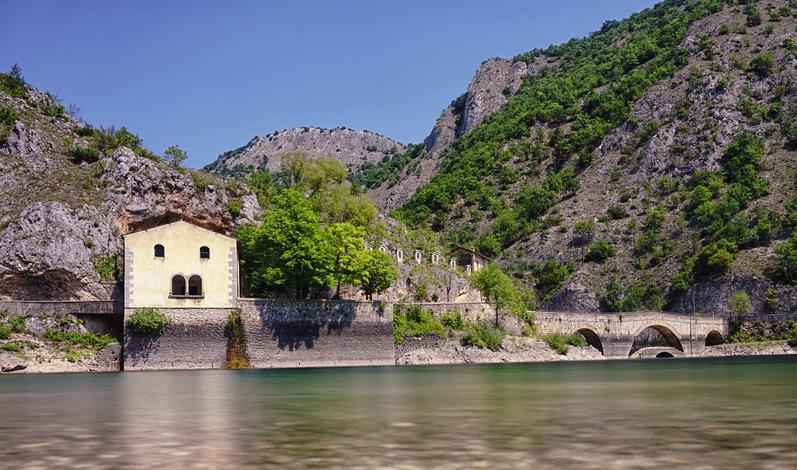 Hermitage of San Domenico, Villalago