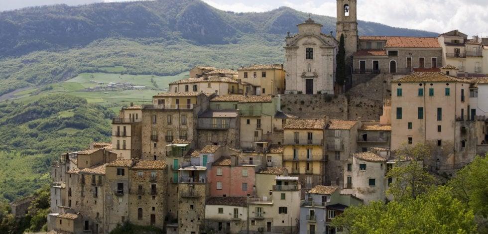 Colledimezzo- Abruzzo- Region-Italy